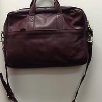 Frye Computer Bag Leather Dark Brown Unisex  Photo