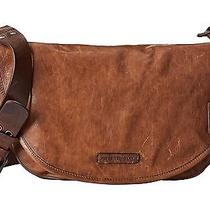 Frye Db868 Becca Distressed Leather Crossbody (Taupe Antique Pull Up) Photo