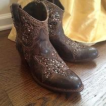 Frye Deborah Star Studded Ankle Boots 9 598 Neimans Sold Out Photo