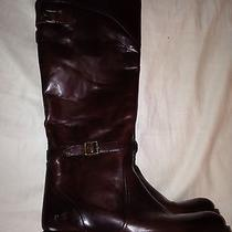 Frye Dorado Cognac Rudibg Boots 8.5 Photo