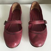 Frye Flats Shoes Maroon Wine Color 9 Photo