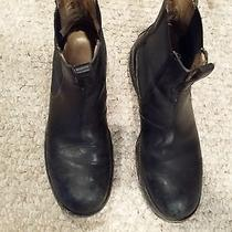 Frye Fulton Chelsea Boots 11 Antiqued Black  Photo
