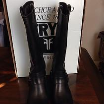 Frye Harness 15r Black New With Box 8.5 Photo