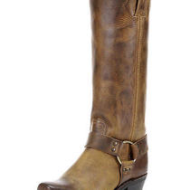 Frye Harness 15r Tall Size 8 Dark Brown Leather Like New  Photo