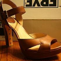 Frye Heels Samantha Seam in Cognac Photo