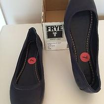 Frye Iris Blue Flats Photo