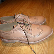 Frye James Leather Wingtip Shoes Men's 10.5 Fits Like 11.5 Ln Condition Rtl 190 Photo