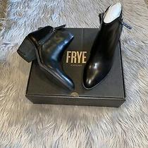 Frye Judith Zip Bootie Black Ankle Boots Womens 9 Photo