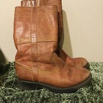 Frye Kids Child Youth Tall High Leather Zipper Boots 12.5 Photo