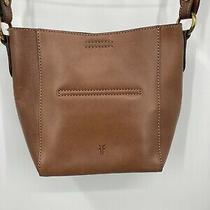 Frye Leather Hobo Shoulder Bag / Cross Body Cognac Photo