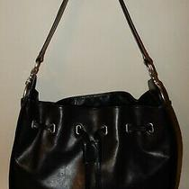 Frye Leather Ilana Hobo Handbag Black Photo