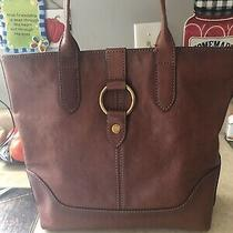 Frye Leather Ring Tote - Cognac (Db320) Photo