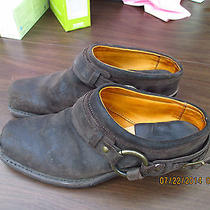 Frye  Leather Shoe  Boots Western Work Barn Riding Dance Shoes Size 8.5 M Photo
