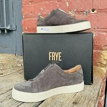 Frye Lena Zip Mules New Size 6 Suede Leather Slip on Sneaker Dusty Rose 198 Photo