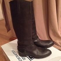 Frye 'Lindsay Plate Black  Size 9 Photo