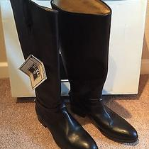 Frye Lindsay Plate Black Womens Size 7.5m Boots Msrp 368 Photo