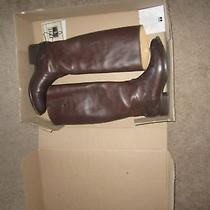 Frye Lindsay Plate Tall Leather Boots Photo