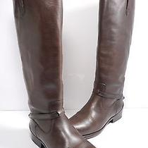 Frye Lindsay Plate Womens Boot Dark Brown Size 7 B Photo