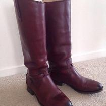 Frye Lindsey Plate Boots Sz 6.5 Photo