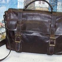Frye Logan Antiqued Flap Briefcase - 528 Photo