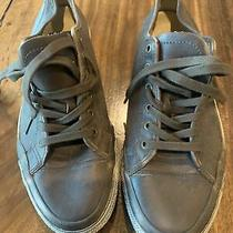 Frye Ludlow Low Casual Lace Up Sneaker Men's Size 10.5 Dark Brown Photo