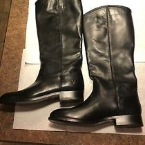 Frye Melissa Button 2 Tall Boots Womens Size 8m - Black Photo