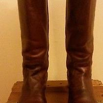 Frye Melissa Button Cognac Boots Size 7 Photo