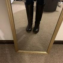 Frye Melissa Button Riding Boots- Brown Size 7 Photo