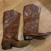 Frye Melissa Button Women's Leather Riding Boots Sz 8.5 B Photo