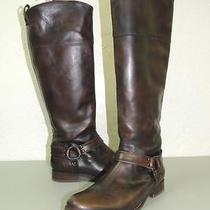 Frye Melissa Harness Brown Brown Boots Brown 12 B 438 Photo