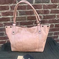 Frye Melissa Hobo Dusty Rose Distressed Leather Shoulder Bag 388.00 Photo