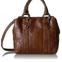 Frye Melissa Mini Cross Body  Bag Leather Handbag  Reduced  Cognac Msrp 228 Photo