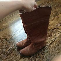 Frye Melissa Trapunto Boot Cognac Size 7.5 Photo