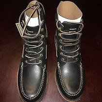 Frye Men's Black Boots Size 9 Photo