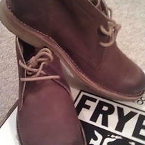 Frye Men's Hudson Chukka Boot Dark Brown Size 10 Photo