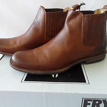Frye Men's Phillip Chelsea in Cognac (Size 9) Photo