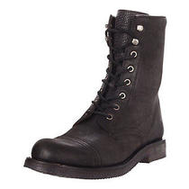 Frye Mens Norton Tall Lace Black Boot Us 10 Photo