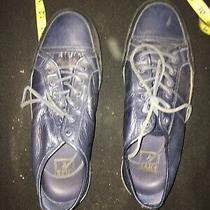 Frye Mens Size 10 Navy Sneakers Photo