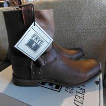 Frye Mens Smith Harness Boots Tan Size 11 Photo