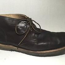 Frye Mexico 86091 Brown Leather Mens 11.5 Chukka Ankle Boots Gum Crepe Sole Photo
