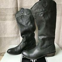 Frye New in Box Nib Women's Boots Size 8.0 M Carson Riding Color Emerald Photo
