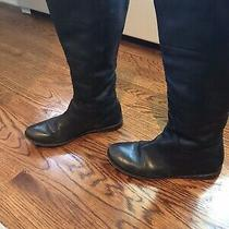 Frye Paige Tall Black Boots Size 8.5 Photo