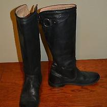 Frye Paige Trapunto Size 5.5 (Black Antique) Photo