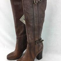 Frye Parker D Ring Copper Leather Knee High Boot Size 9m  Rh11733 Photo