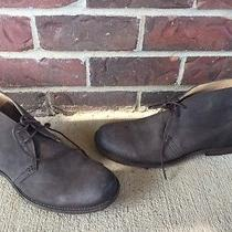 Frye Phillip Chukka Dark Brown Boots Size 9.5 D New Without Box  Photo