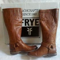 Frye Philllip Harness Tall Size 6.5 Cognac Photo