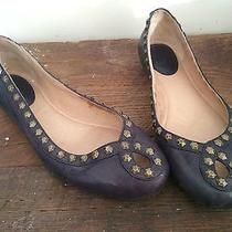 Frye Purple Flats With Studs Photo