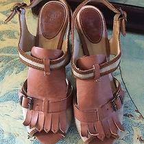 Frye Ramsey 10 Wooden Heel Suede Leather Madewell Photo