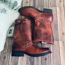 Frye Red Engineer Boots Photo
