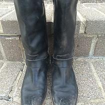 Frye Smith Harness Boots Blk Sz 8 Photo